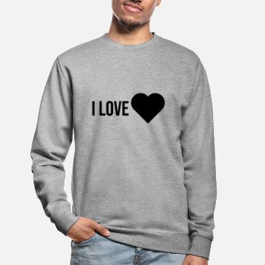 Couple i love you gift couple - Unisex Sweatshirt