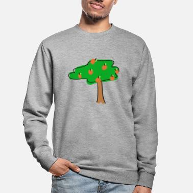 Orange træ - Sweatshirt unisex