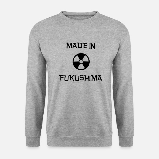 Chernobyl Hoodies & Sweatshirts - Made In Fukushima (V) - Men's Sweatshirt salt & pepper