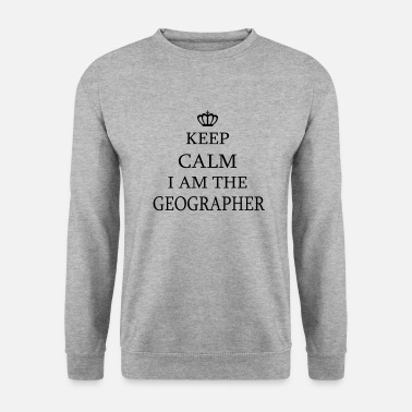Geographic Geographer - Men's Sweatshirt