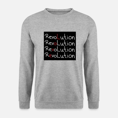Revolution black - Unisex Sweatshirt
