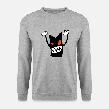 icone monster - Sweat-shirt Homme