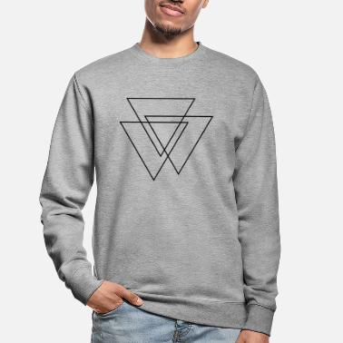Geek triangles Valknut - Sweat-shirt Unisexe
