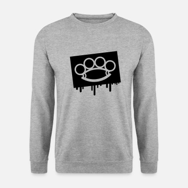 Gangster schlag_ring_he1 - Sweat-shirt Homme