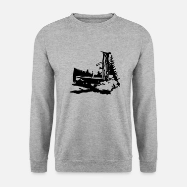Thirst Quencher drinking trough - Unisex Sweatshirt