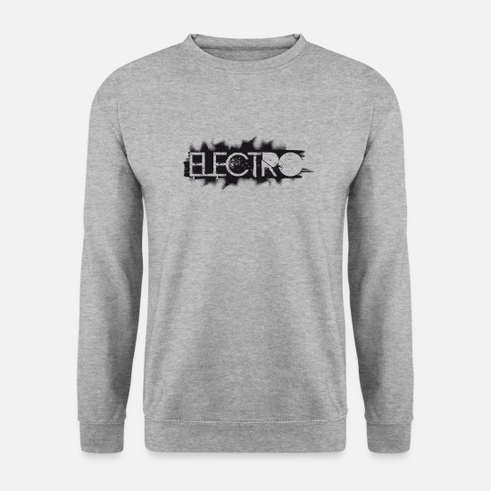 Danser Sweat-shirts - ELECTRO - Sweat-shirt Homme gris chiné