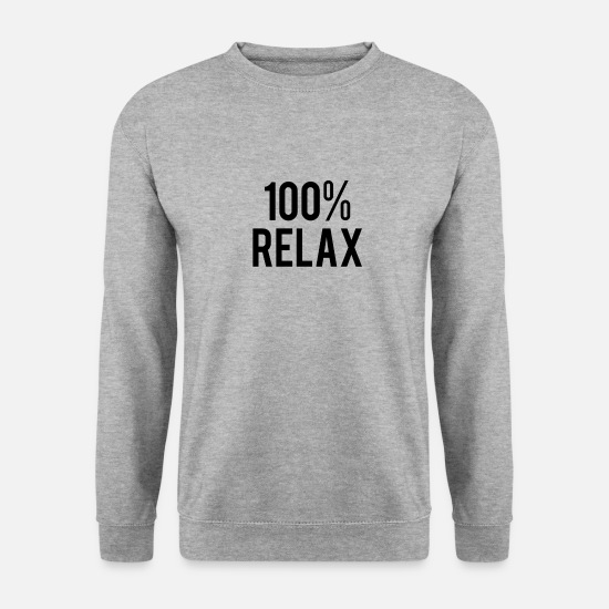 Loisirs Sweat-shirts - 100% relax - Sweat-shirt Unisex gris chiné