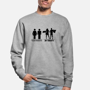 Parents Vos parents-mes parents vos parents-mes parents - Sweat-shirt Unisexe