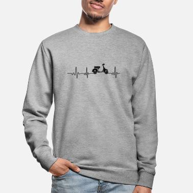 Heartbeat Moped - Unisex Pullover