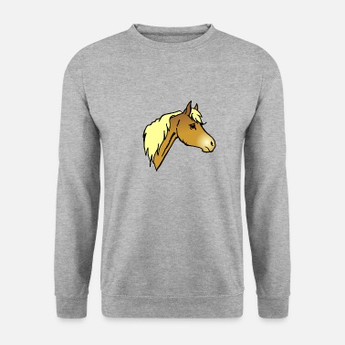 Mare Haflinger Pony - Men's Sweatshirt