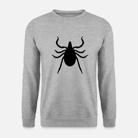 Death Hoodies & Sweatshirts - tick - Unisex Sweatshirt salt & pepper