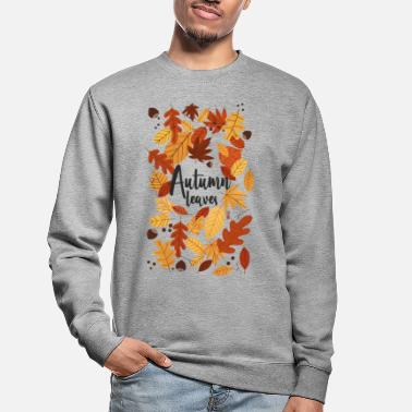 Autumn Leaves - Felpa unisex