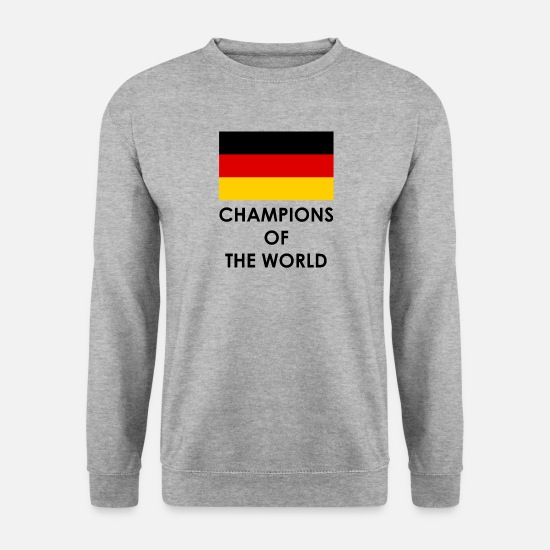 World Championship Hoodies & Sweatshirts - Germany world champion - Men's Sweatshirt salt & pepper