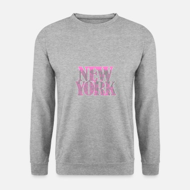 New York City Manhattan Skyline Time Square USA - Sweatshirt mænd