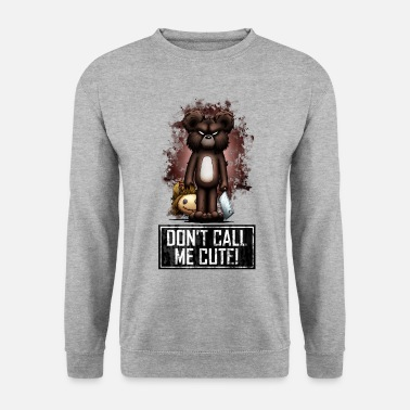 Halloween Teddy - Don't Call Me Cute (Color) - Unisex Sweatshirt
