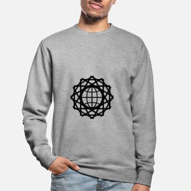 Global connexion globale - Sweat-shirt Unisexe