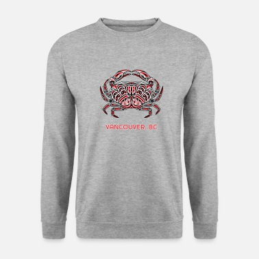British Vancouver Dungeness Crab Northwest Coast Native - Unisex Sweatshirt