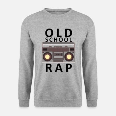 Rap Radio vintage cassette Old School Rap - Sweat-shirt Homme