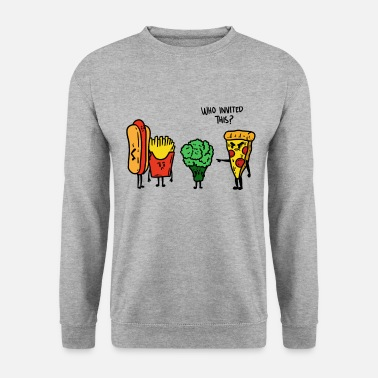 Meme Junk Food-feest - Unisex sweater