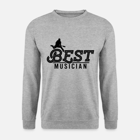 Gift Idea Hoodies & Sweatshirts - Musician Musician Making Music Instrument - Unisex Sweatshirt salt & pepper