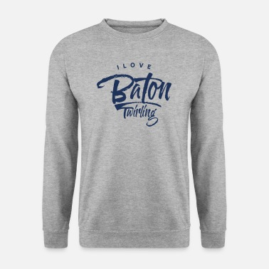 Bâton Bar Baton Twirling Turning Sports Bar tournant - Sweat-shirt Unisex