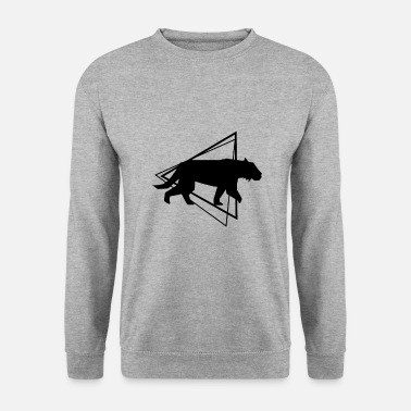 Leopard tiger - Men's Sweatshirt