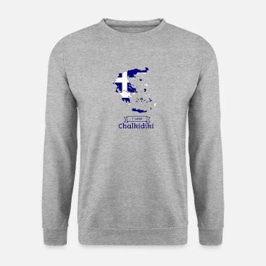 Greece Greece T-shirt i love Chalkidiki - Unisex Sweatshirt