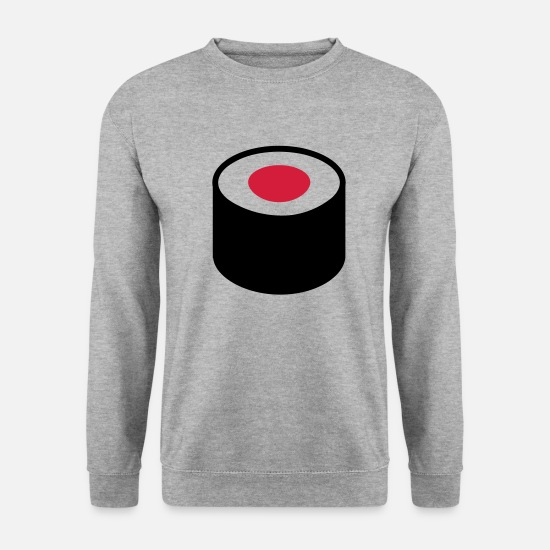 Restaurant Hoodies & Sweatshirts - Sushi - Men's Sweatshirt salt & pepper