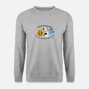 Dogowner Hiking Dogowner Dog Backpacker Nature Pet Love - Men's Sweatshirt