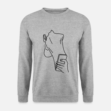 Smartphone Addict Graphic - Sweat-shirt Homme