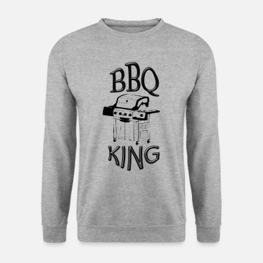Roi Du Barbecue barbecue roi - Sweat-shirt Homme