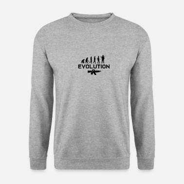 Bundeswehr soldiers Army Gift · Evolution - Unisex Sweatshirt