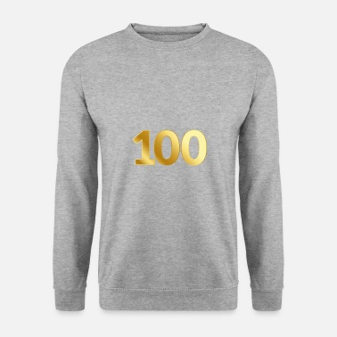 Award 100 Anniversary Birthday Honor Gift Anniversary - Men's Sweatshirt