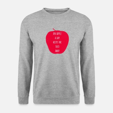 Apple Taco Vegetarian Taco - Men's Sweatshirt