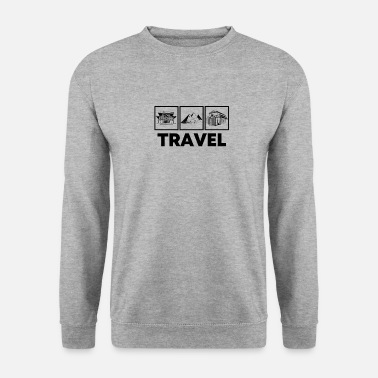 Travel to travel - Men's Sweatshirt