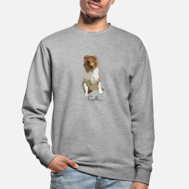 Long-haired Long-haired Herd Dog Collie rough long hair collie - Unisex Sweatshirt