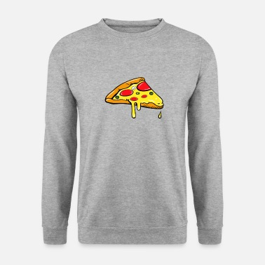 Partner Piece - Fast Food - pizza salami partner shirt - Men's Sweatshirt