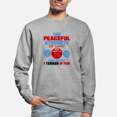 United against terrorism - Unisex Sweatshirt