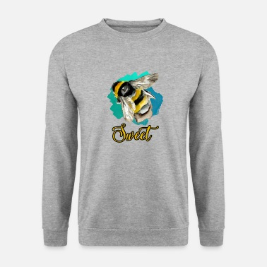 Happiness Douce abeille - Sweat-shirt Homme