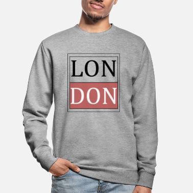 London London - Sweatshirt unisex