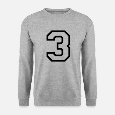3 THE NUMBER 3-3 - Unisex Sweatshirt