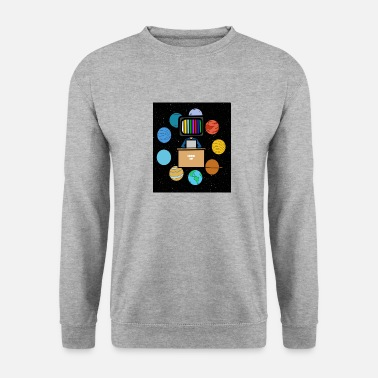 Space student schoolcontest - Mannen sweater