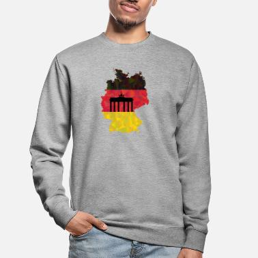 Federal Republic Of Germany The Federal Republic of Germany + Brandenburg Gate - Unisex Sweatshirt