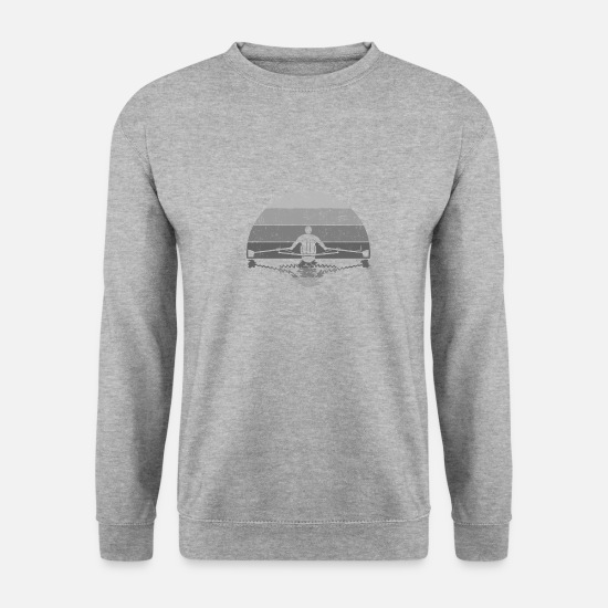 Kayaking Hoodies & Sweatshirts - rowing - Unisex Sweatshirt salt & pepper