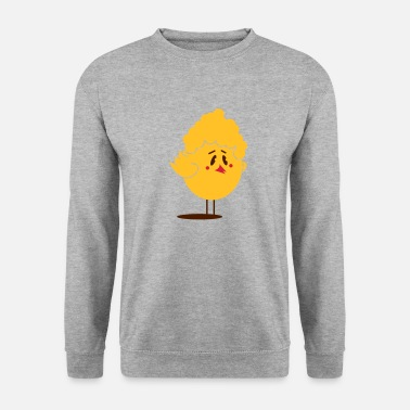 Bibberle funny chick with perm hairstyle - Unisex Sweatshirt