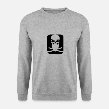 SKULL BARBE - Sweat-shirt Unisex