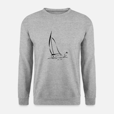 zeilboot - Mannen sweater