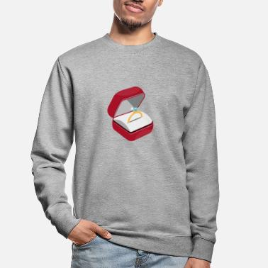 Engagement Engagement ring engagement - Unisex Sweatshirt