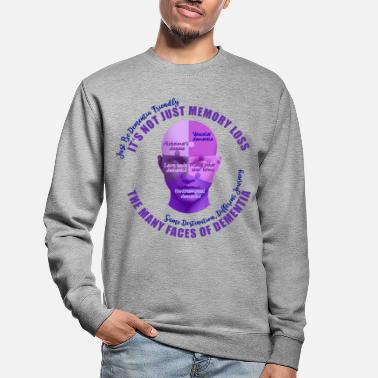 Vascular Dementia The Many Faces of Dementia - Unisex Sweatshirt