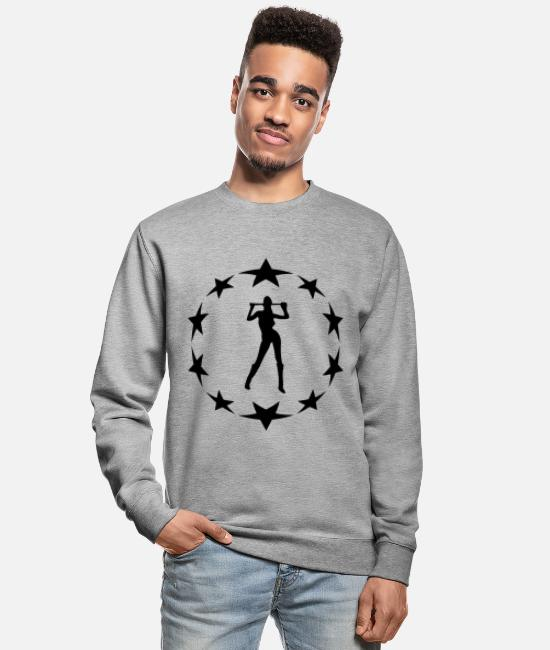 Grandpa Hoodies & Sweatshirts - stars wreath special - Unisex Sweatshirt salt & pepper